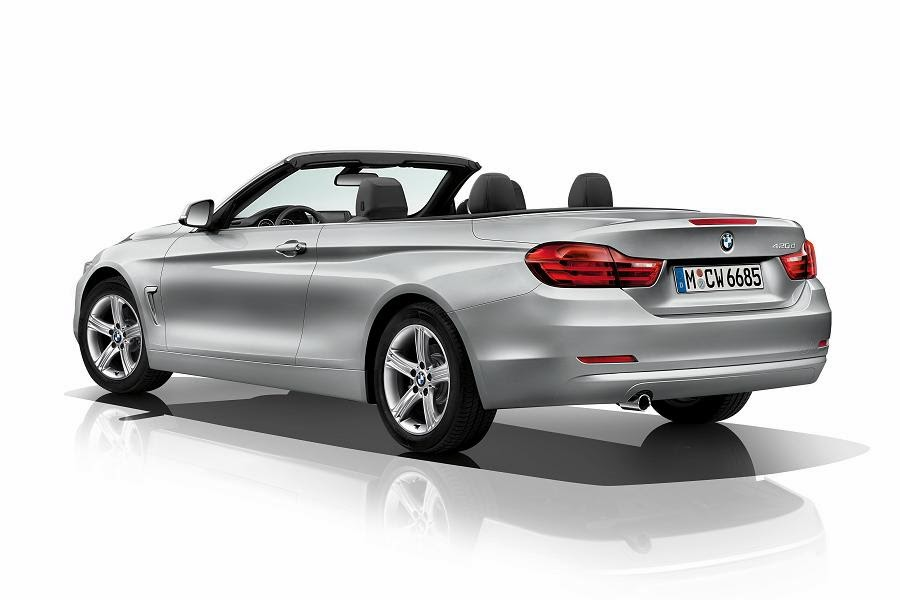 2014 BMW 4 Series Convertible Unveiled