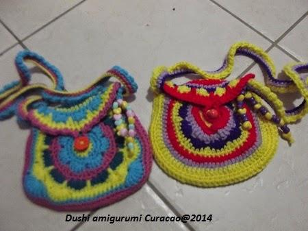 Dushi Amigurumi Curacao Grote Mandala Haken En Mandala Meisjes Tasjes