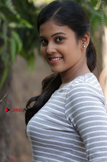 Tamil Actress Chandini Tamilarasan Latest Pos in Ripped Jeansat Ennodu Vilayadu Press Meet  0014.jpg