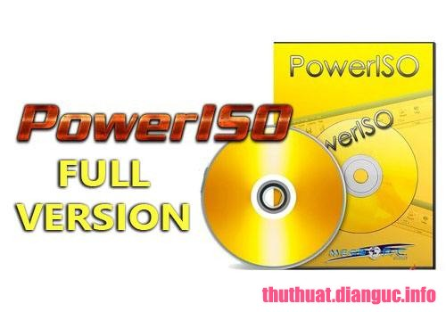 Download PowerISO 7.4 Full Key
