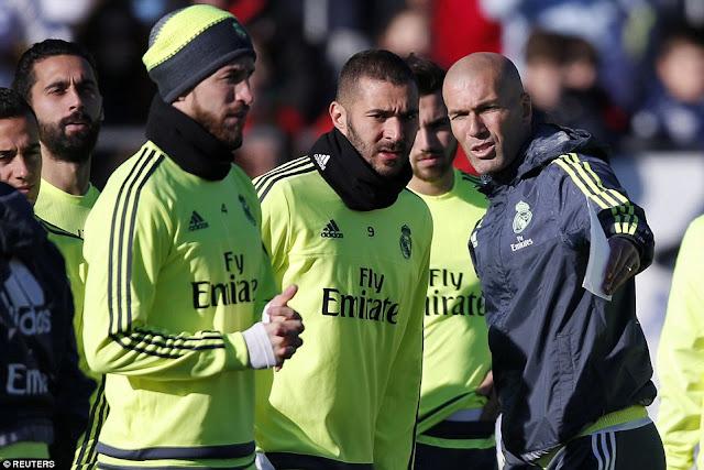 بالاسماء .... ريال مدريد يطيح بـ الخمسة المخضرمين من اجل عيون زيدان