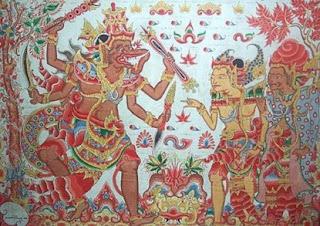 Seni Lukis Hindu Klasik Indonesia - berbagaireviews.com