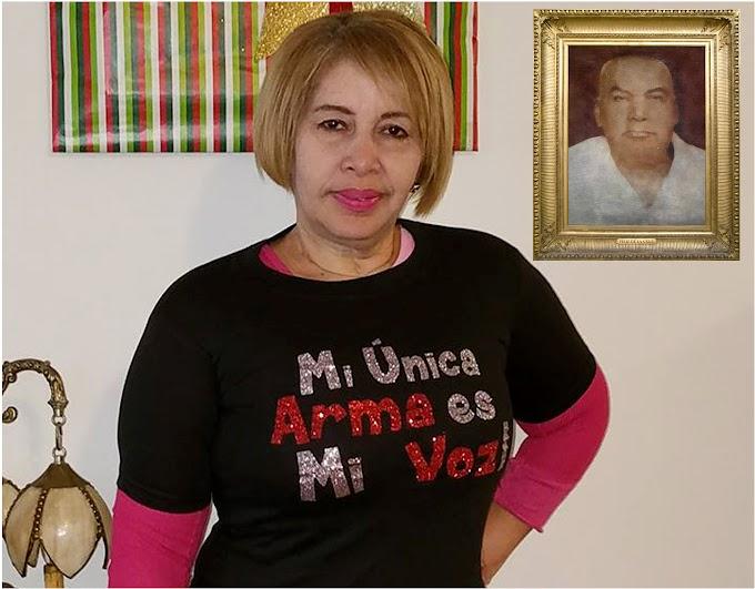 Mónica Zapata, el lacerante trauma de una activista por la persecución trujillista a su padre