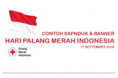Contoh Banner dan Spanduk Hari Palang Merah Indonesia