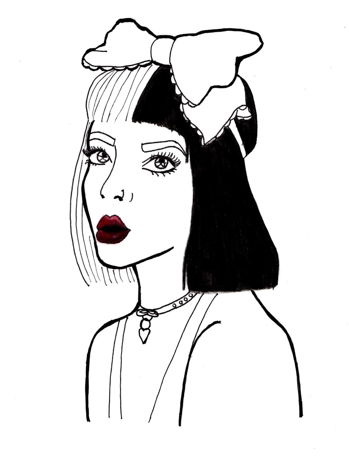Silverxy Melanie Martinez Illustration