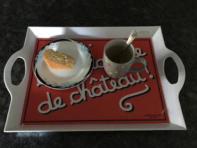 Part Gâteau vanille base cupcake et tisane