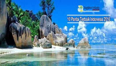 Pantai Terbaik Indonesia 2016