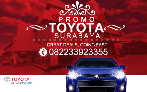 Promo Mobil Toyota Surabaya Paket DP Harga Termurah 2016