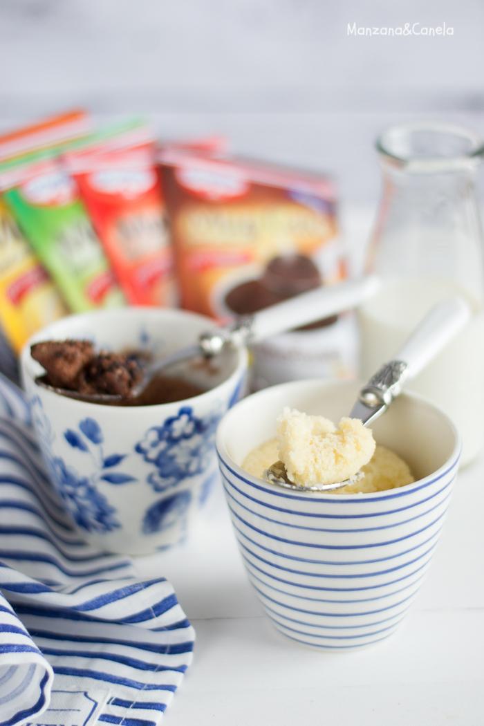 Prueba de producto: cómo hacer un mugcake en poco más de un minuto!