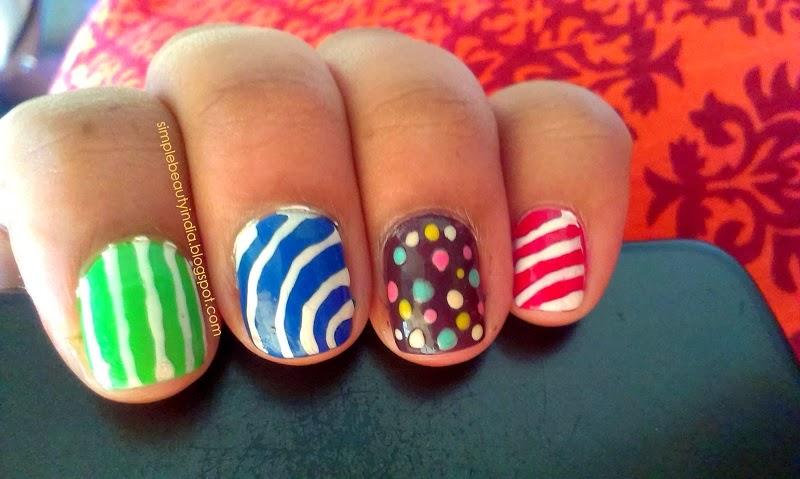Candy Crush Saga Inspired Nail Art Notd Beauty Grin