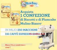 Logo Con Mulino Bianco vinci 250 macchina da caffè Smeg!