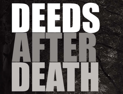 When a Man Dies, His Deeds Come to an End, Except for Three