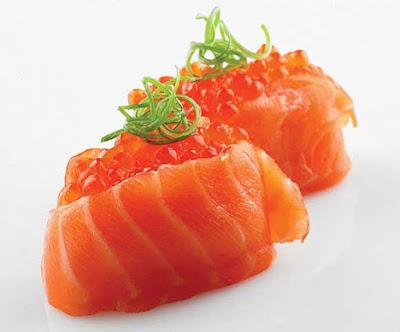 как приготовить лосось с красной икрой