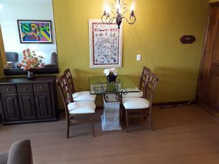 Sala de jantar temporada Gramado