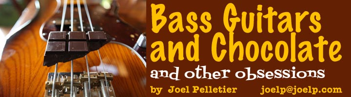 Bass Guitars and Chocolate