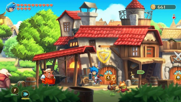 Monster Boy and the Cursed Kingdom PC Full Español