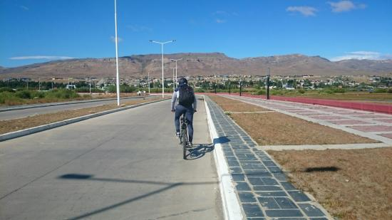 Bicicleta em El Calafate, Argentina