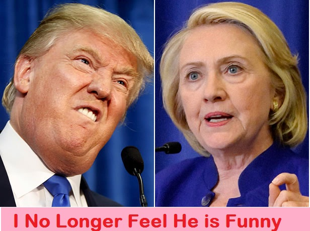 Hillary Clinton: Donald Trump is no Longer Funny, He's Dangerous