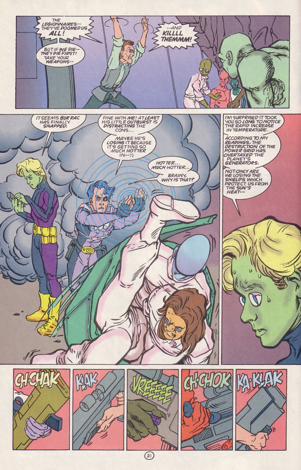 Legion of Super-Heroes (1989) 65 Page 20