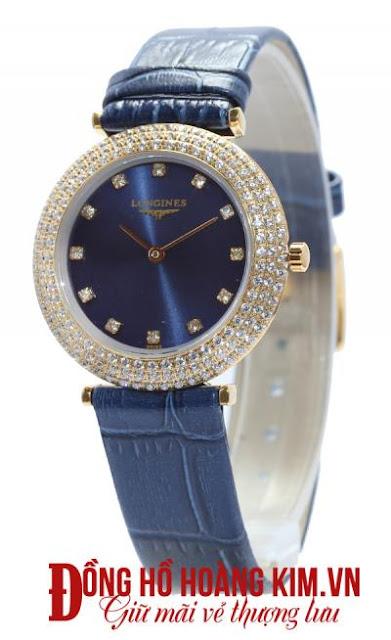 Đồng hồ nữ dây da mặt tròn - 04