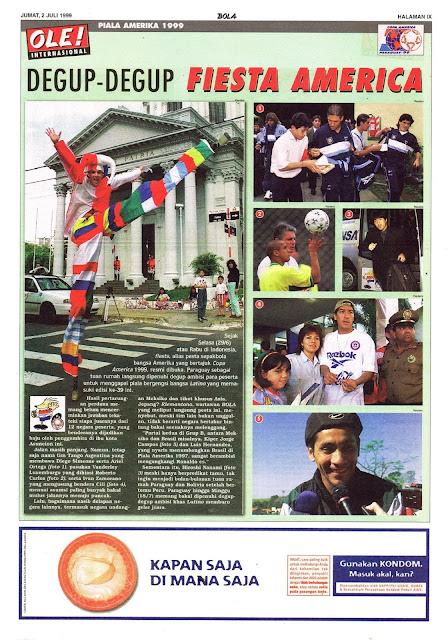 PIALA AMERIKA 1999 FIESTA AMERICA