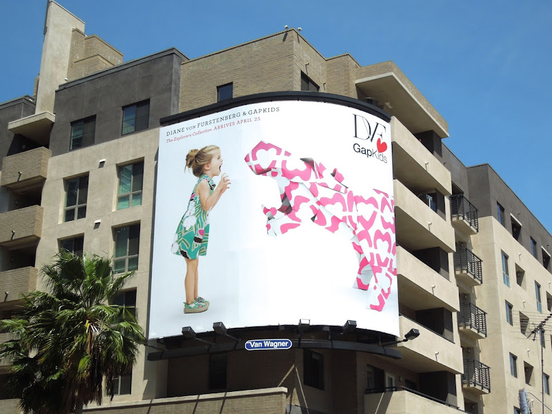 DVF Gap Hippo billboard
