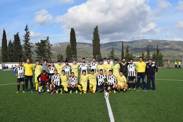 Φιλική νίκη του Ατρόμητου Κρανιδίου επί του Ο.Φ.Ηλιοκάστρου με 5-2