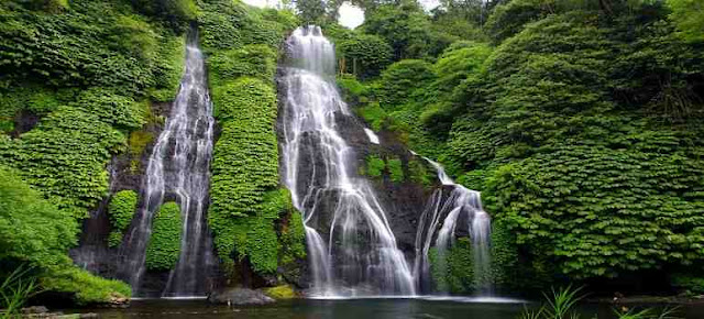 Banyumala Waterfall -  The Most Beautiful Natural Swimming Pool