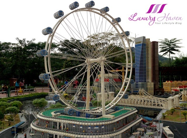 legoland malaysia resort miniland singapore flyer