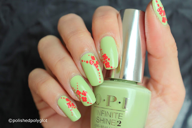 Nail art withOPI Tokyo Collection for summer 2019