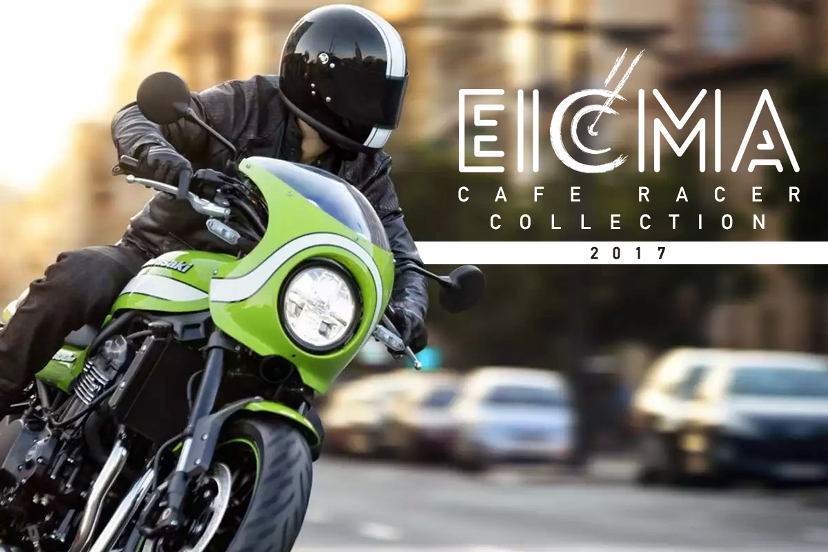 eicma 2017 cafe racer collection return of the cafe racers. Black Bedroom Furniture Sets. Home Design Ideas