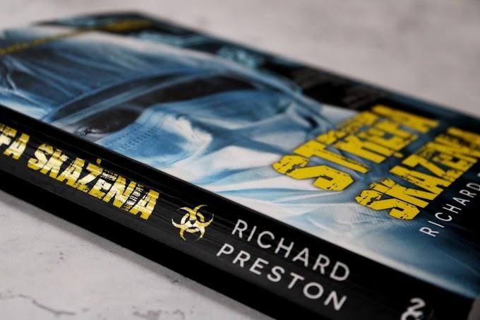"""#75 """"Strefa skażenia"""" Richard Preston"""