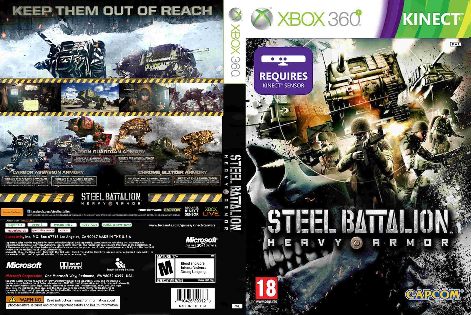 STEEL BATTALION HEAVY ARMOR / XBOX 360