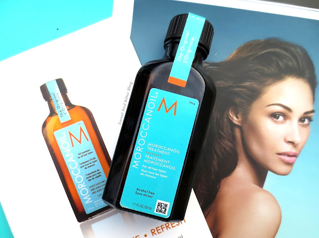 Moroccan Oil Treatment (Alcohol-Free) Review