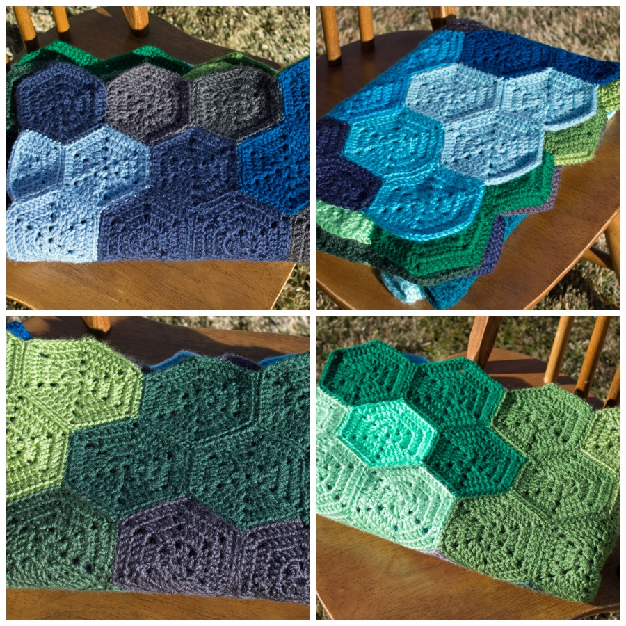 Crochet hexagon blanket pattern and tutorial the friendly red fox crochet hexagon blanket pattern and tutorial bankloansurffo Image collections