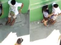Duh Lihat Apa Yang Dilakukan Pasangan Pacaran Ini di Gang Sempit Saat Terekam Kamera