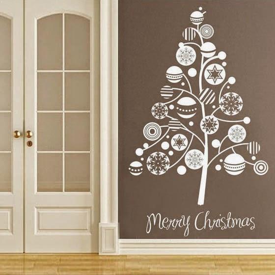 puedes comprarlas fcilmente en lnea o en tiendas de bricolaje echa un vistazo a estos grandes ejemplos de arte para las paredes de navidad