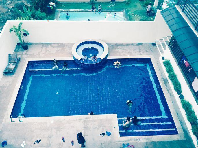 Swimming pool at Tali Beach