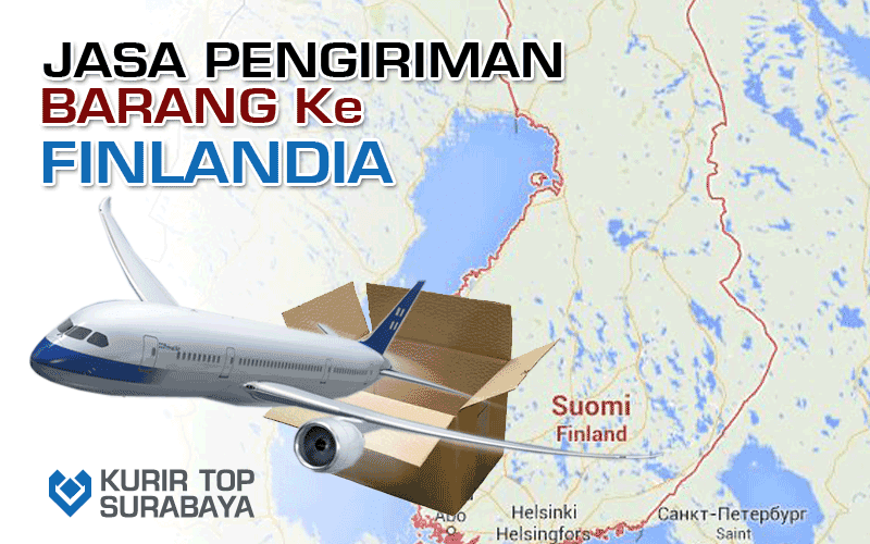 JASA PENGIRIMAN LUAR NEGERI | KE FINLANDIA
