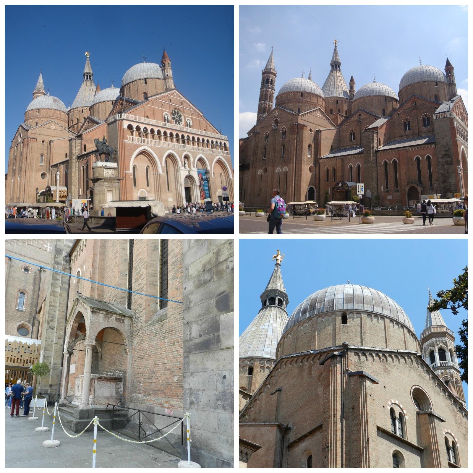 Tá Indo Pra Onde Basílica De Santo Antônio De Pádua Em Padova Itália