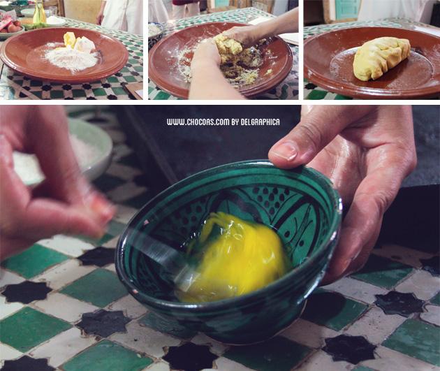 receta orivas - taller de cocina en Marrakech