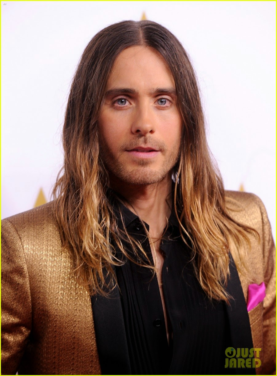 Celeb Diary: Jared Leto attending the 2014 Academy Awards ...