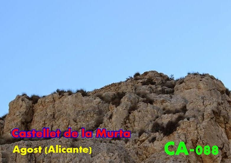 Resultado de imagen de castillo de la murta agost