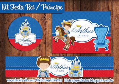 kit festa rei principe arthur