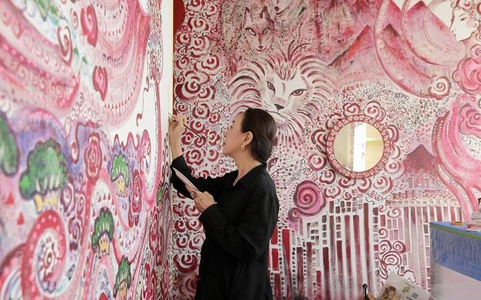 No. 29 – Park Hotel Tokyo Artist Room Japanese Angel designed by Yuki Ninagawa