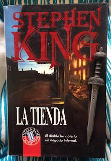 Portada del libro La tienda, de Stephen King
