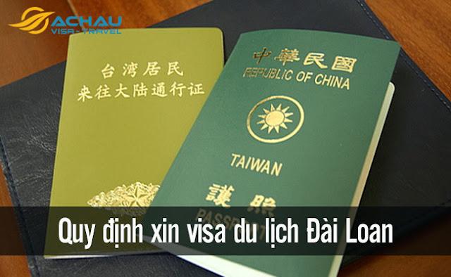 Công dân Việt Nam xin visa du lịch Đài Loan theo những quy định nào?