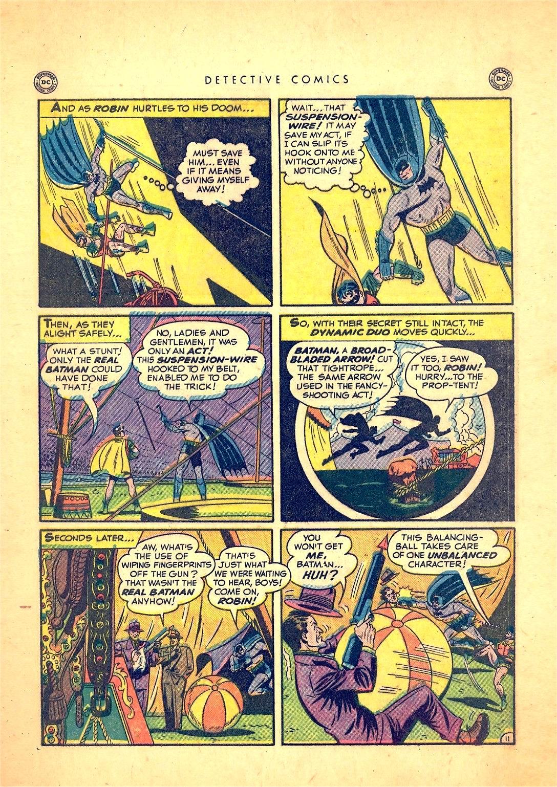 Read online Detective Comics (1937) comic -  Issue #166 - 13