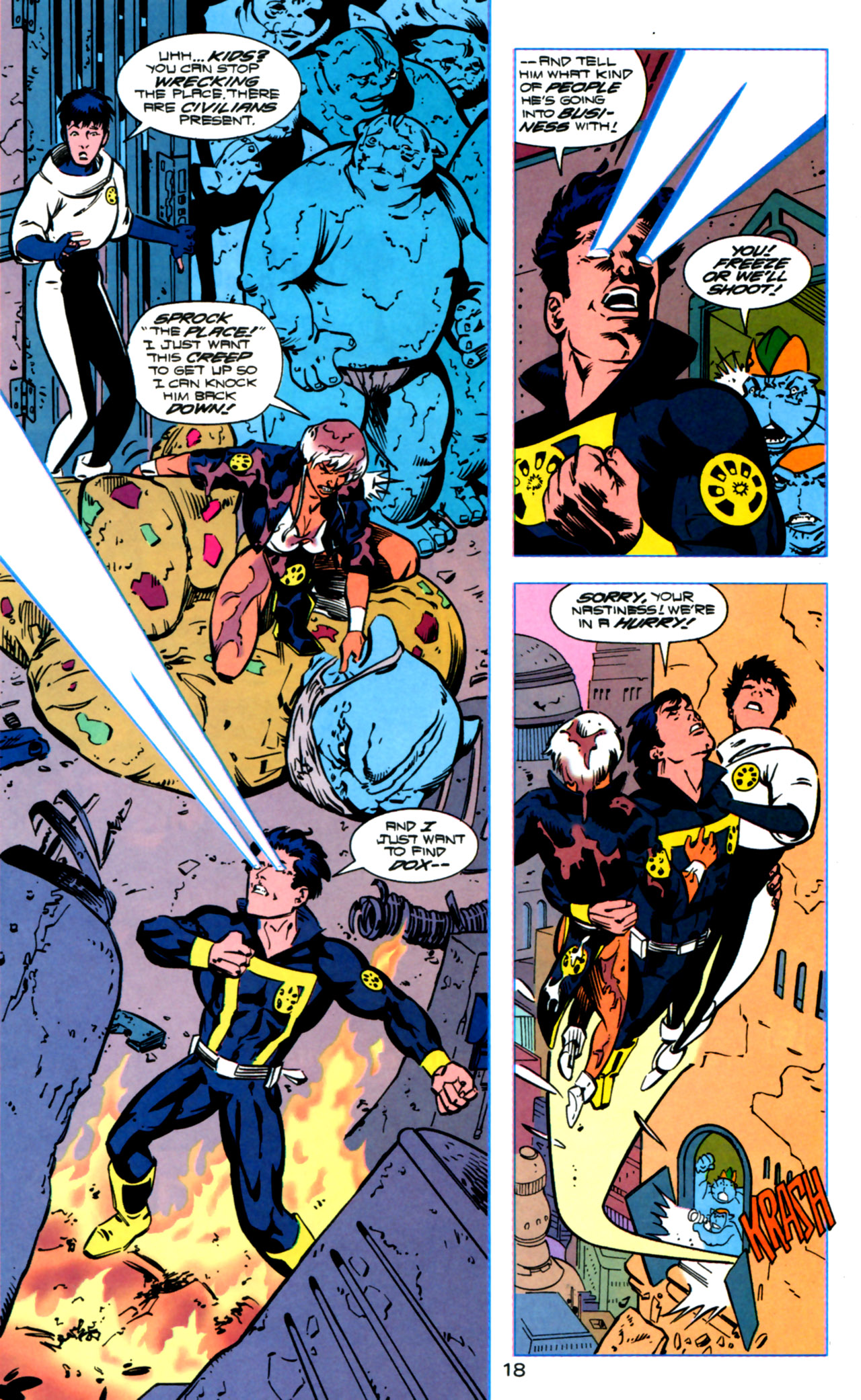Legion of Super-Heroes (1989) 119 Page 17