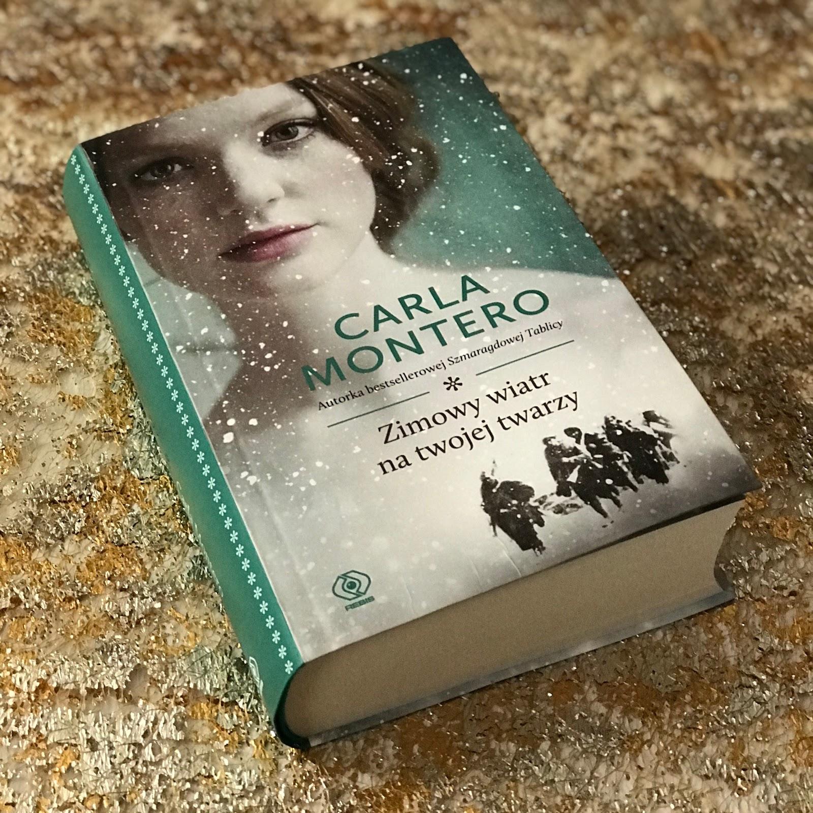 """CARLA MONTERO """"Zimowy wiatr na twojej twarzy"""""""